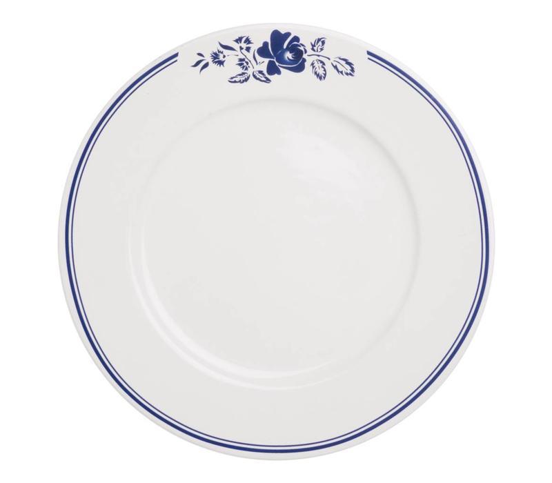 Dépôt d'Argonne Dinner Plate 27cm Rose, Blue