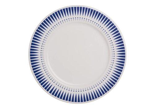 Dépôt d'Argonne Dépôt d'Argonne Dinner Plate 27cm Arlequin, Blue