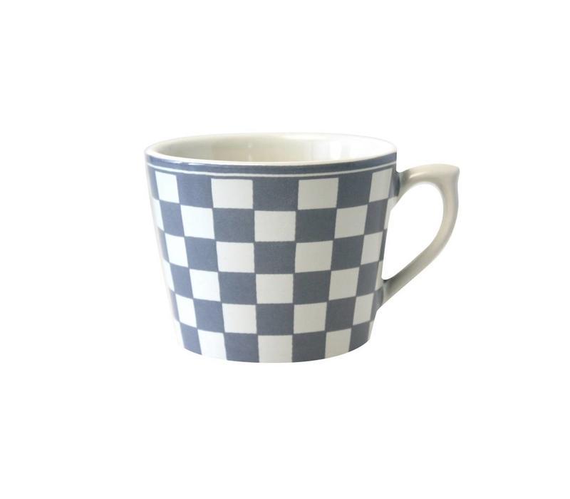 Dépôt d'Argonne Cappuccino Cup Damier, Grey