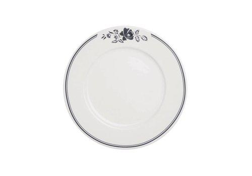 Kom Amsterdam Dépôt d'Argonne Breakfast Plate 23cm Rose, Grey
