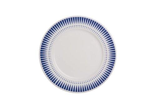 Kom Amsterdam Dépôt d'Argonne Breakfast Plate 23cm Arlequin, Blue