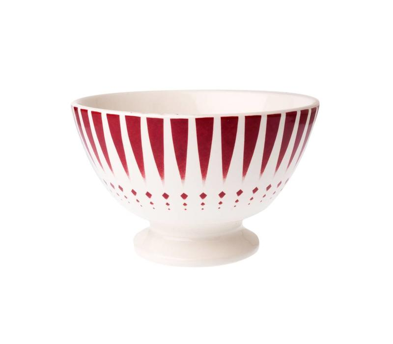 Dépôt d'Argonne Bowl Medium Arlequin, Red