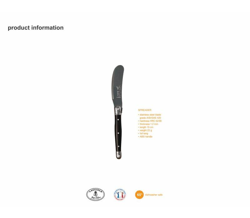 Laguiole 4 Butter Knives Stainless Steel in Display