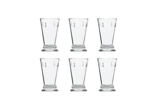Kom Amsterdam Rochère set of 6 water / latte / long drink glasses 30 cl 'Honey bee'
