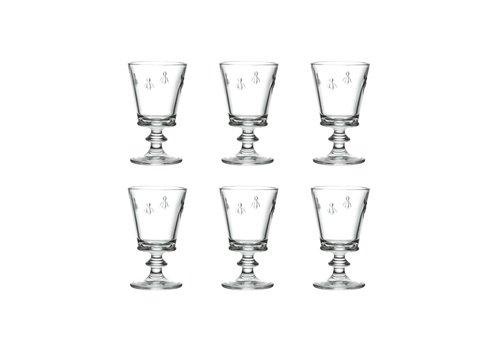 Kom Amsterdam Rochère Set mit 6 Weingläsern 24 cl Honigbiene
