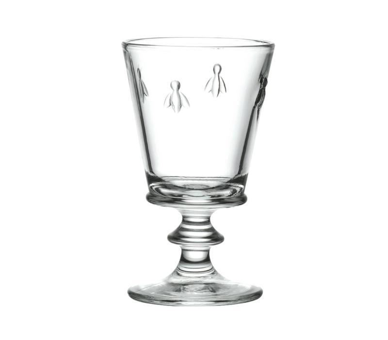 Rochère set 6 wijnglazen 24 cl Honingbij