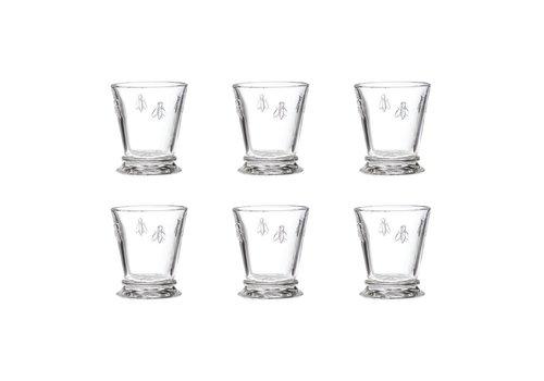 Kom Amsterdam Bistrot Set 6 Waterglas Laag 27 cl 'Honingbij'