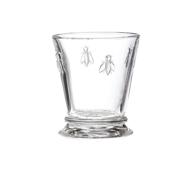 Bistrot Set of 6 Water Glasses Low 27 cl 'Honey Bee'