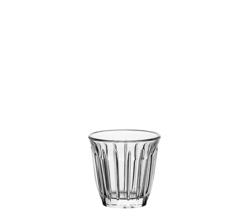 Rochère set 6 espresso glaasjes 10 cl Zinc