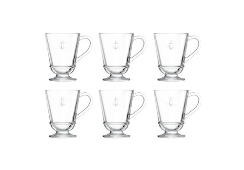 Kom Amsterdam Bistrot Set of 6 Tea glasses 27 cl Honeybee
