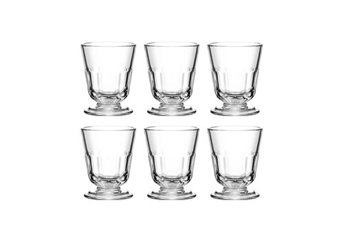 Kom Amsterdam Bistrot Set of 6 Water Glasses small 23 cl Périgord