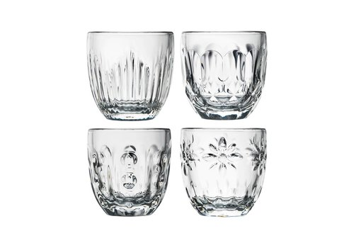 Kom Amsterdam Rochère mix set of 4 espresso glasses 10 cl Retro