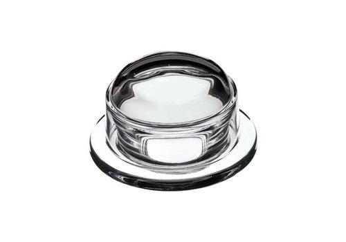 La Rochére Glass butter dish ø9,5xH6 cm blank