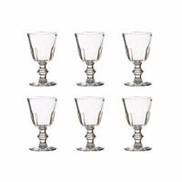 Rochère set of 6 large wine glasses 22 cl Périgord