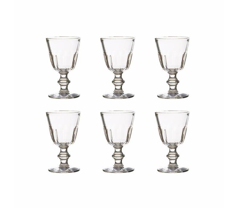 Bistrot set 6 water/wijnglas 22 cl Perigord