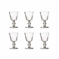 Bistro set of 6 water/wine glasses 19 cl Perigord