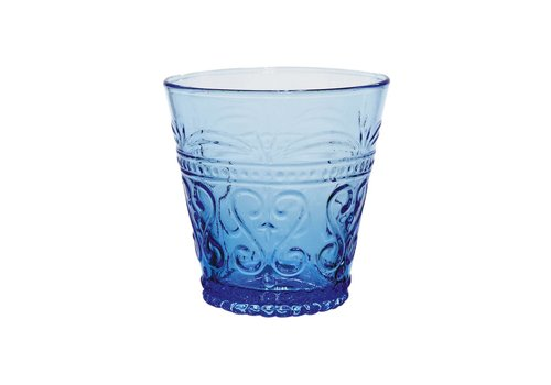Kom Amsterdam Aqua Kom Amsterdam water/tumbler glas 24 cl Aqua no.1 blauw