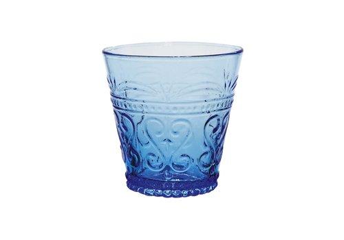 Kom Amsterdam Kom Amsterdam water/tumbler glas 24 cl Aqua no.1 blauw