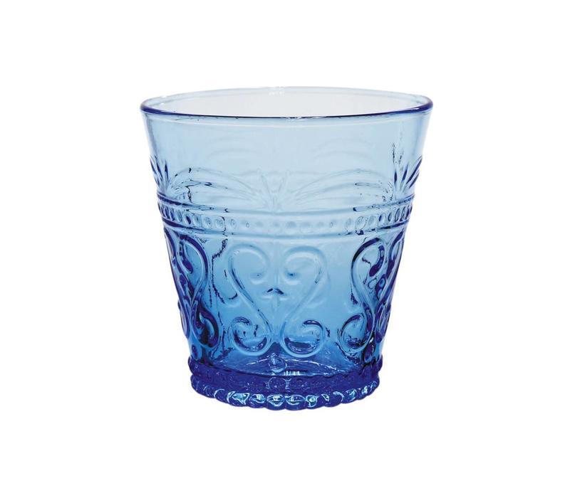 Kom Amsterdam Wasser/Tumbler Glas 24 cl Aqua no.1 blau