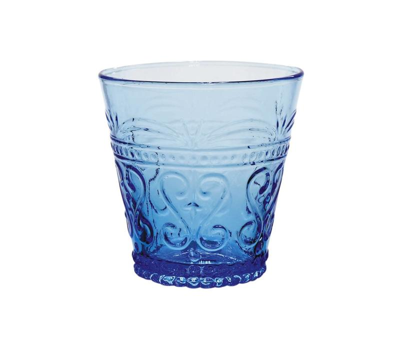 Kom Amsterdam water/tumbler glass 24 cl Aqua no.1 blue