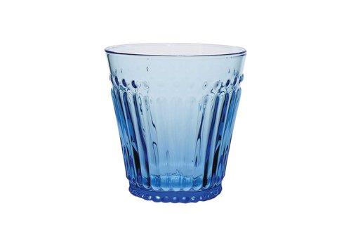 Kom Amsterdam Kom Amsterdam water/tumbler glas 24 cl Aqua no.2 blauw