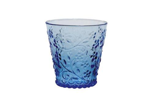 Kom Amsterdam Kom Amsterdam water/tumbler glas 24 cl Aqua no.4 blauw