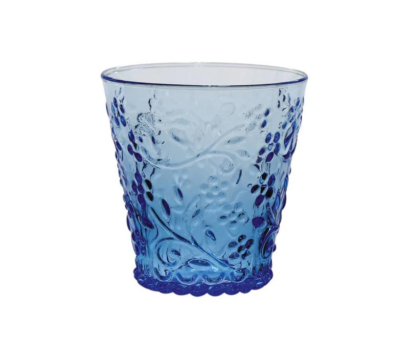 Kom Amsterdam water/tumbler glass 24 cl Aqua no.4 blue