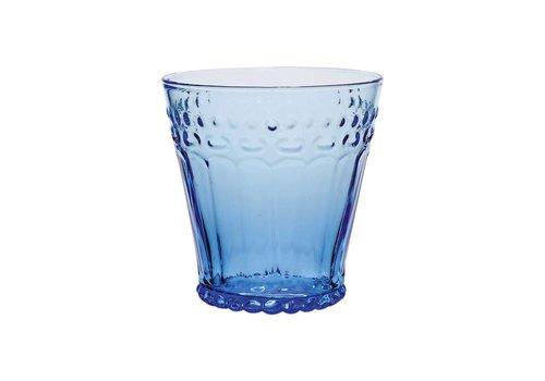 Kom Amsterdam Kom Amsterdam water/tumbler glas 24 cl Aqua no.5 blauw