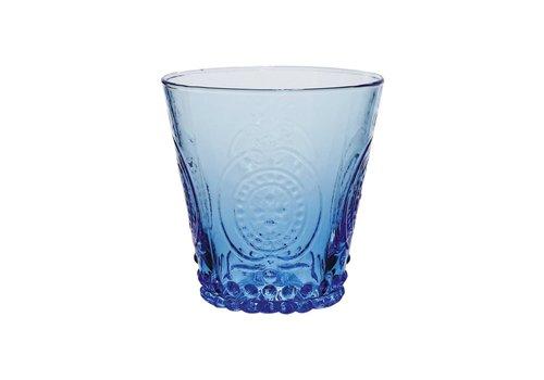 Kom Amsterdam Kom Amsterdam Wasser/Tumbler Glas 24 cl Aqua no.6 blau