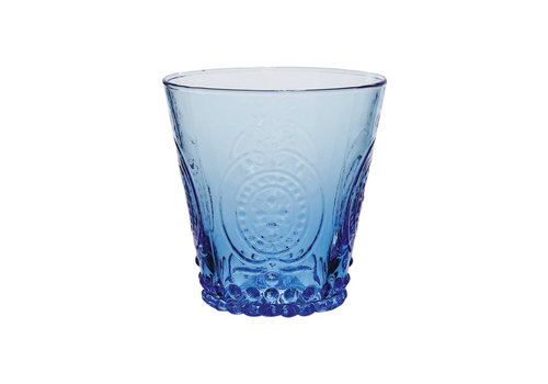 Kom Amsterdam Kom Amsterdam water/tumbler glas 24 cl Aqua no.6 blauw