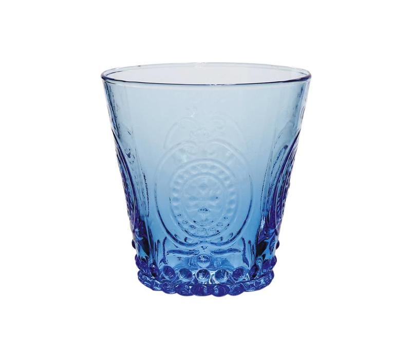 Kom Amsterdam Wasser/Tumbler Glas 24 cl Aqua no.6 blau