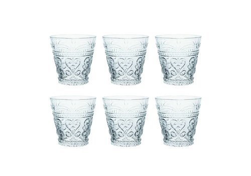Kom Amsterdam Kom Amsterdam set 6 water/tumbler glasses 24 cl Aqua no.1