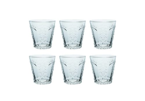Kom Amsterdam Kom Amsterdam set 6 water/tumbler glasses 24 cl Aqua no.3
