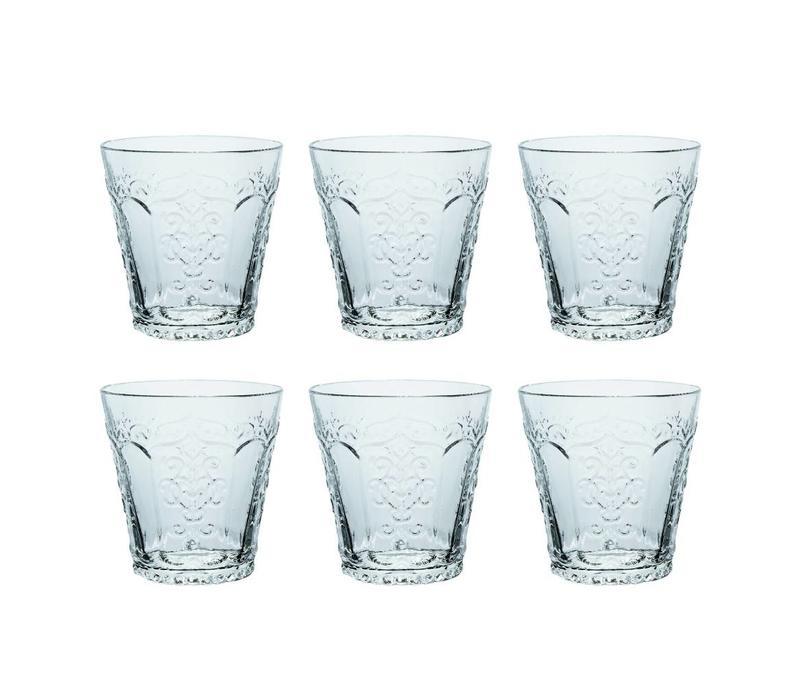 Kom Amsterdam set 6 water/tumbler glazen 24 cl Aqua no.3