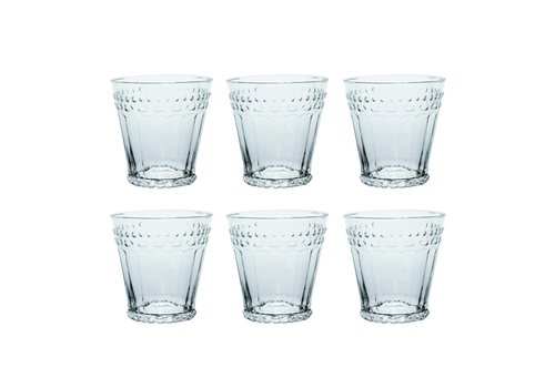 Kom Amsterdam Kom Amsterdam set 6 water/tumbler glasses 24 cl Aqua no.5