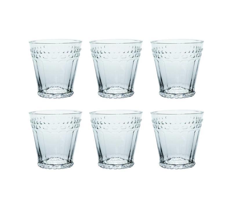 Kom Amsterdam set 6 water/tumbler glasses 24 cl Aqua no.5