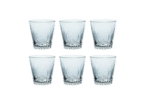 Kom Amsterdam Kom Amsterdam set 6 water/tumbler glasses 24 cl Aqua no.6