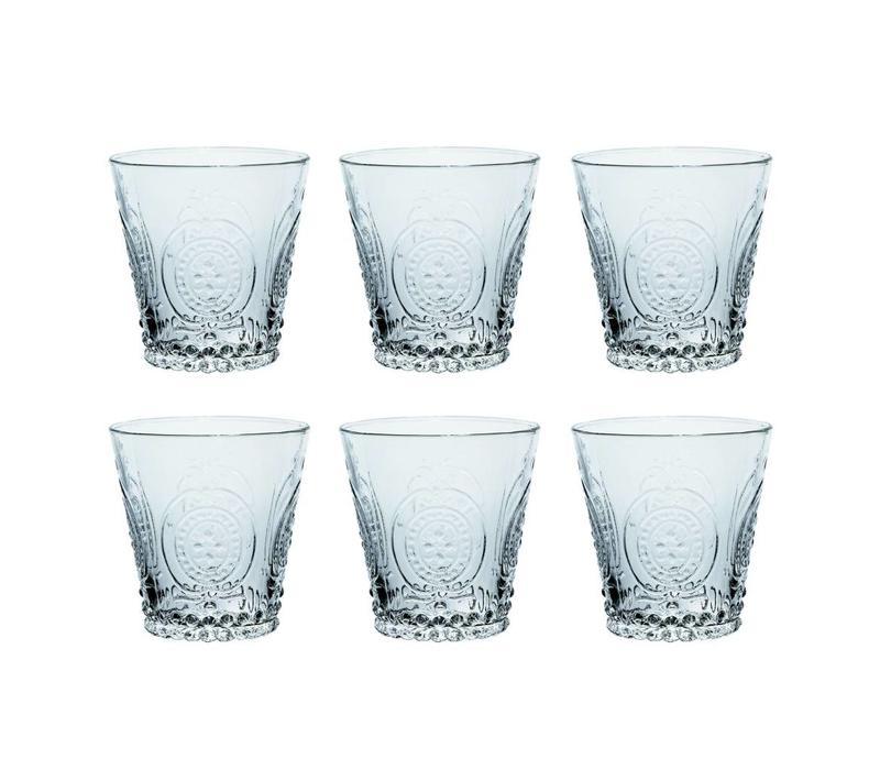 Kom Amsterdam set 6 Wasser/Tumbler Gläser 24 cl Aqua no.6