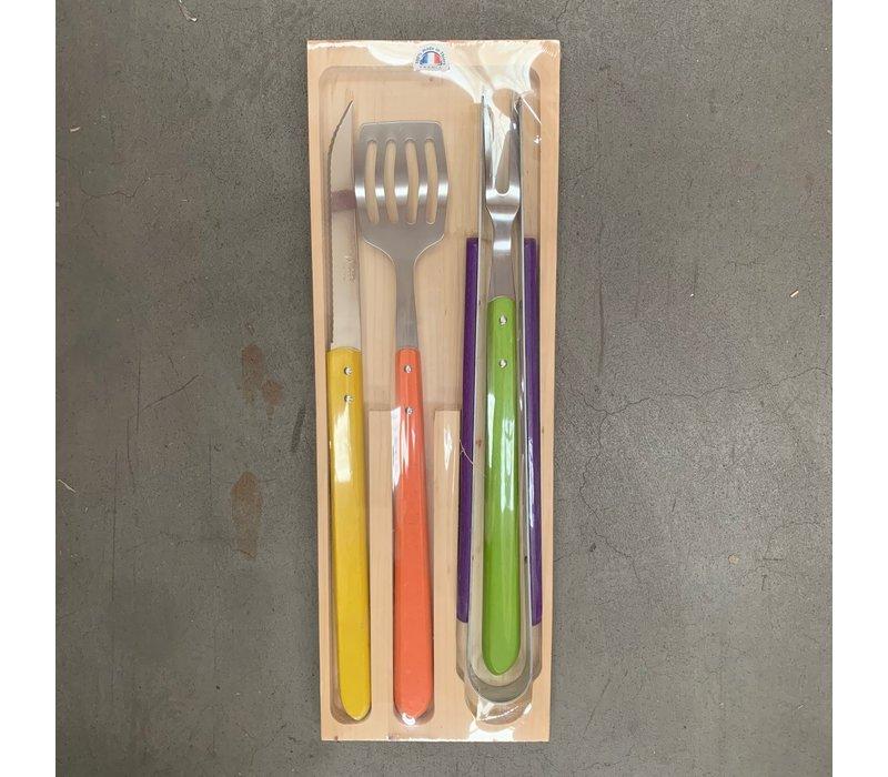 Jean Dubost BBQ set 4-piece