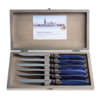 Murano Murano 6 Steak Knives in Box Blue