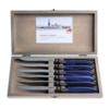 Murano Murano 6 Steakmesser in Kiste Blau