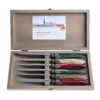 Murano Murano 6 Steak Knives in Box Christmas Mix