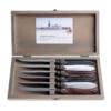 Murano Murano 6 Steak Knives in Box Classic Mix