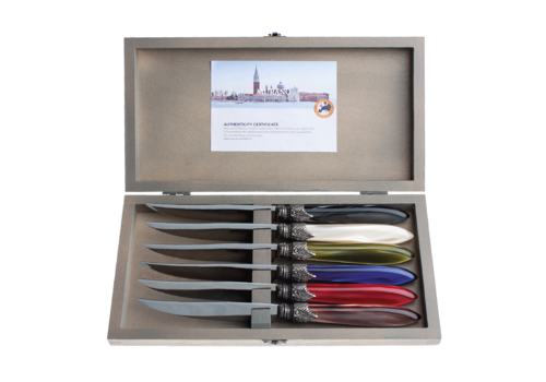 Murano Murano 6 Steak Knives in Box Cottage Mix