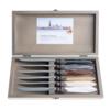 Murano Murano 6 Steakmesser in Kiste Earth Mix