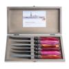 Murano Murano 6 Steakmesser in Kiste Fire Mix