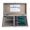 Murano Murano 6 Steak Knives in Box Green