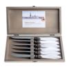 Murano Murano 6 Steak Knives in Box Ice White