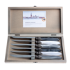 Murano Murano 6 Steakmesser in Kiste Loft Mix