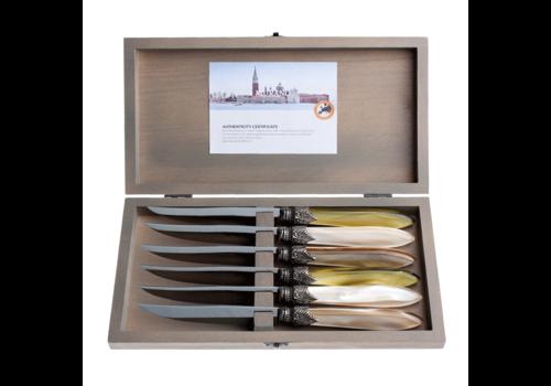 Murano Murano 6 Steakmessen in Kistje Meadow Mix
